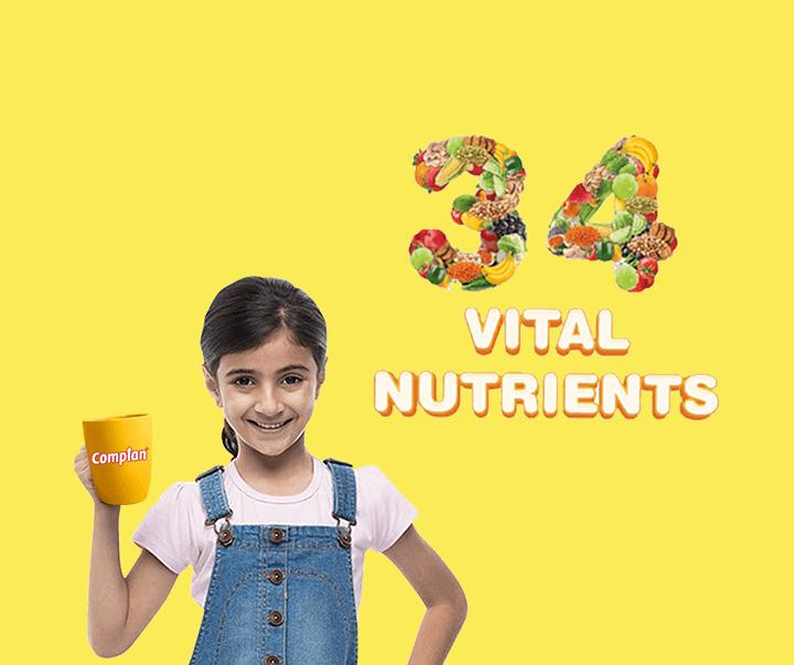 34 vital nutrients